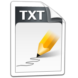 .txt txt icons, free icons in Simplexity File, (Icon Search Engine)