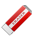 package,purge,clean,delete,eraser,clear,del,remove,erase,pack