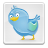 twitter,boxed,badge,bird,blue,button,file,animal,paper,document,social network,social,sn