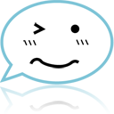 chat,emoticon,face,talk,comment,speak,emotion