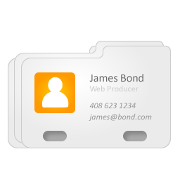 address card icons free icons in project icon search engine