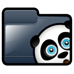 Folder H Panda Icon Png Ico Or Icns Free Vector Icons