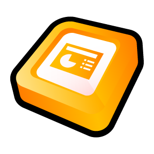 Microsoft Office PowerPoint icons, free icons in 3D Cartoon