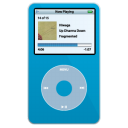 ipod,video,blue