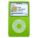 ipod,video,green