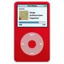 ipod,video,red