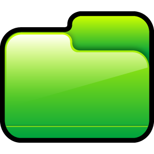 folder,closed,green