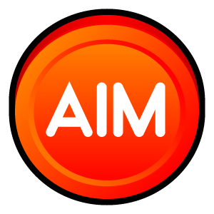 aim,badge