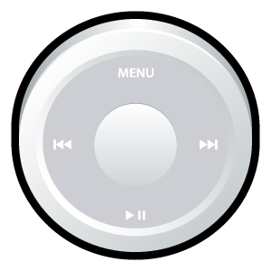 ipod,white,badge
