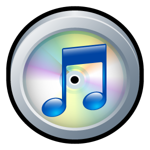 available on itunes badge