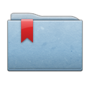 folder,blue,ribbon
