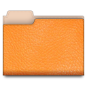 leather,orange