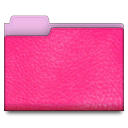 leather,pink