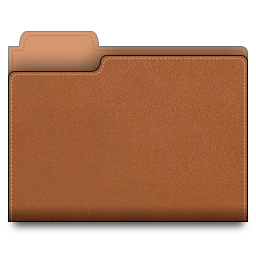 leather,folder,brown