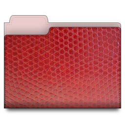 leather,folder,red