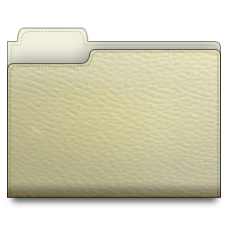 leather,folder,white