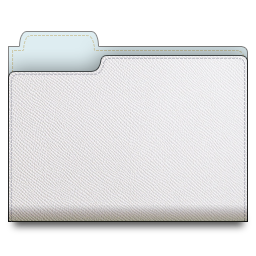 leather_folder_white2 icons, free icons in Leather Folder ...