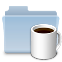 coffee,folder,badged,food