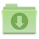 downloads,folder,green