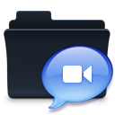 chat,folder,badged,talk,comment,speak