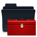 toolbox,folder,badged
