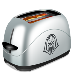 Toasting icons, free icons in BSG: Frakking Toasters ...