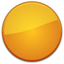 blank,badge,orange,empty
