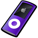 ipod,nano,purple