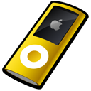 ipod,nano,yellow