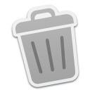 trash,empty,blank,recycle bin