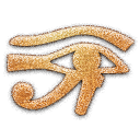eye,horus,embossed