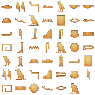 Hieroglyphica - 48 Free Icons, Icon Search Engine