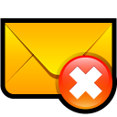 email,delete,del,remove,mail,message,letter,envelop
