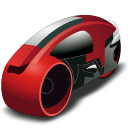 lightcycle,red