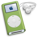 ipod,mini,green