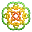 greenyellow,circleknot,knot,knotting