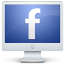 facebook,monitor,display,screen,social,computer,social network,sn