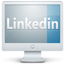 linkedin,monitor,display,screen,social,computer