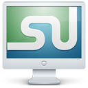 stumbleupon,monitor,display,screen,social,computer