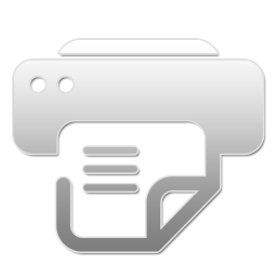 Printer And Fax W Icon Png Ico Or Icns Free Vector Icons