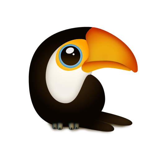 tuqui,trans,animal,bird,toucan
