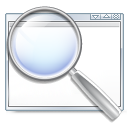 kappfinder,application,find,magnifying glass,search,zoom,seek