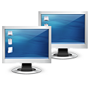 multiple,monitor,computer,screen,display