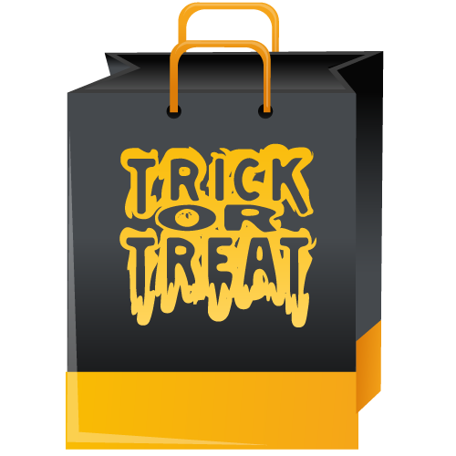 trick,treat,bag