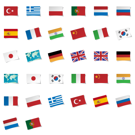 Language Icons  1318 free vector icons  SVG PSD PNG