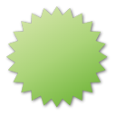 label,green