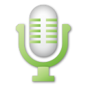 microphone,green,mic