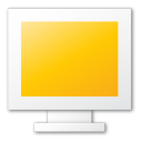 monitor,yellow,computer,screen,display