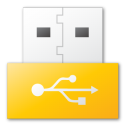 usb,yellow