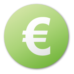 Currency Euro Green Icon Png Ico Or Icns Free Vector Icons